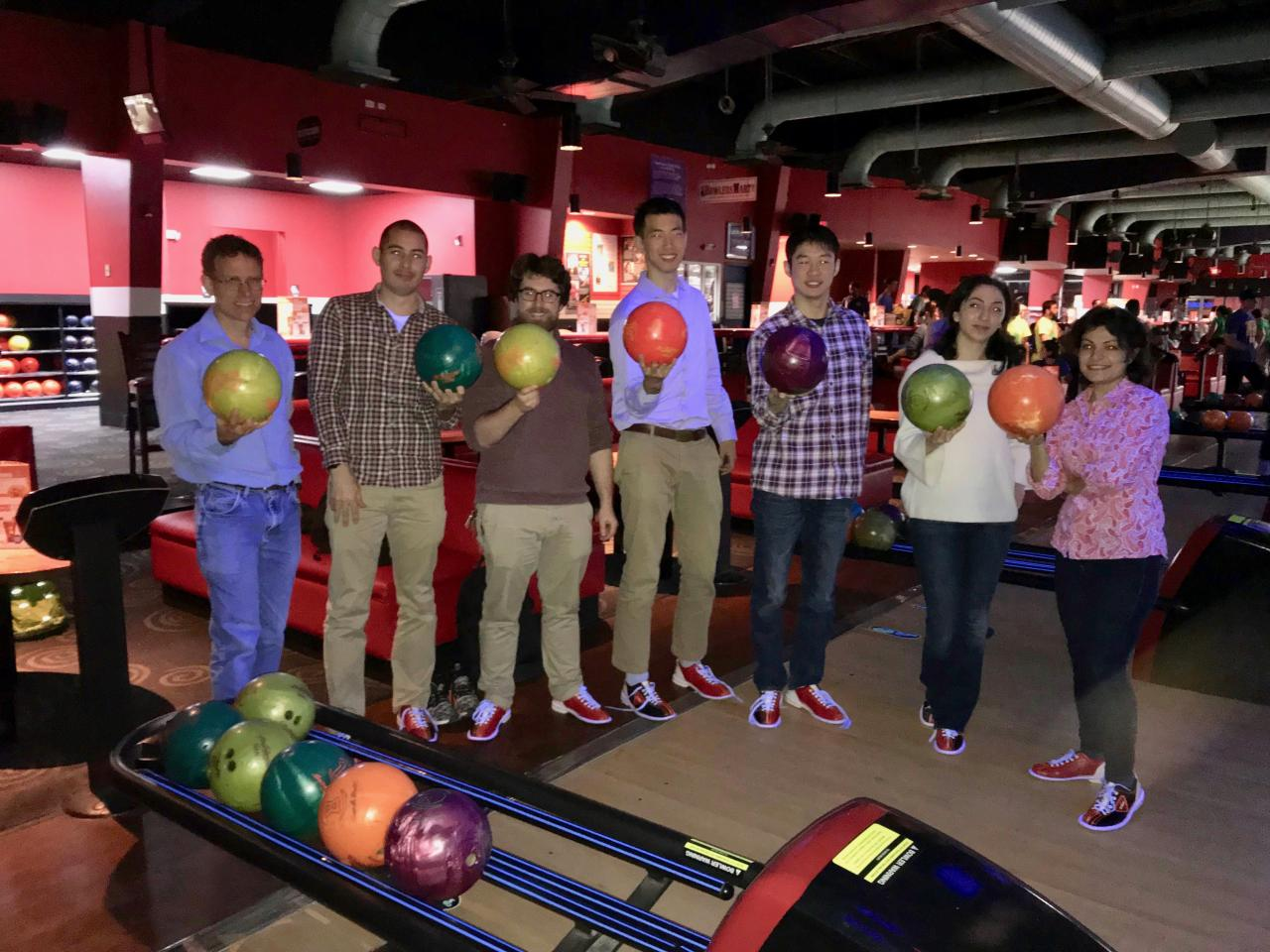 Mitzi group photo - Bowling